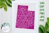 Utah State Mandala SVG Cut File example image 1