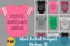 Infant Football Bodysuit Mockups - 12 |PNG|Front/Back - V1 example image 1