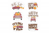 Pumpkin Truck SVG Thanksgiving in SVG, DXF, PNG, EPS, JPEG example image 5