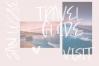 Mink Beach Font & SVG Font example image 7