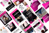 Fashion Blogger Pinterest Templates for Canva example image 8