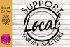 Support Local Animal Shelters - SVG, PNG, EPS example image 1