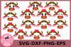 Buffalo face SVG, Safari Animal face svg, Buffalo Eyelashes example image 1