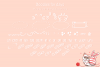 Ms. Biscuits - an adorable handwritten font with doodles example image 3