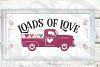 Farmhouse Valentines Svg Sign Bundle, 6 Valentine svgs example image 2