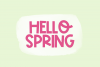 Spring Bloom - A Fun Handwritten Font example image 6