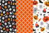 12 Halloween Seamless Patterns example image 5