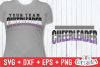 Cheer Template 0040 | SVG Cut File example image 1
