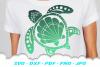 Sea Turtle Summer SVG DXF Cut Files Bundle example image 3