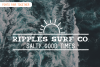 Coastal Fever - Font Package & Beach Textures example image 11