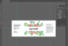 Soap label editable layer template PSD example image 6