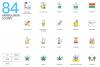 1266 Icons - colorPOP Vector Bundle example image 12
