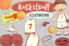Cute Basketball Illustrations example image 1