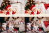 Christmas overlays Santa Claus Hand clipart png Photoshop example image 5