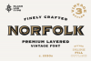 Norfolk - Vintage Display Font example image 1