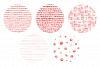 20 Seamless Watercolor Patterns Red example image 3