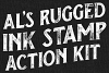 AL's Rugged Ink Stamp Action Kit example image 4