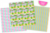 Tropical digital papers, Flamingo digital papers, Cactus example image 4