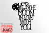 Over the Moon SVG DXF EPS PNG example image 2