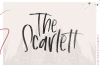 The Scarlett - A Handwritten Brush Font example image 1