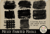 Clipping Masks - Messy Painted Photo Masks & Tutorial example image 5