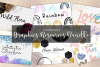 6 Collections of Graphics Resources Bundle example image 1