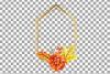 Watercolor elegant autumn geometric golden frame templates. example image 22
