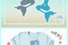 Mermaid Silhouette Monogram Svg Dxf Eps Png Pdf Files example image 4