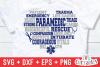 Paramedic / EMT Bundle 1 | SVG Cut File example image 24