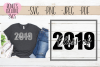 Class of 2019 | Graduation | SVG Cut File example image 1