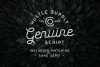 Genuine Script - Textured Type Duo example image 1