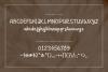 Granada Hand brushed Font example image 9