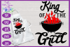BBQ Grill Apron Bundle | Funny SVG Bundle example image 6