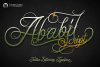 Ababil Script example image 1