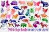 34 File Huge Mandala Animal SVG Cut File Bundle example image 1
