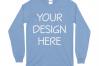 Gildan 5400 Long Sleeve Tshirt Mockups-16 example image 5