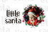 Little Santa Font | merry christmas font | 8 christmas cards example image 5