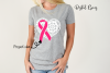 Breast cancer survivor, heart SVG / DXF / EPS / PNG file example image 5