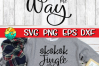 SKSKSK Jingle All The Way - SVG - DXF - EPS - PNG example image 2