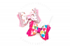 EMMA Bow Hair Bow Digital Template example image 1