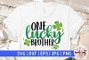 One lucky brother - St. Patrick's Day SVG EPS DXF PNG example image 1