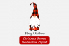 Merry Christmas Gnome Red Buffalo Plaid Sublimation ClipArt example image 2