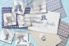 Winter Knitted Accessories Clipart & Scrapbooking Papers Set example image 19