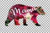 Floral bear family, sister, brother, baby, papa, mama bear example image 21