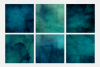 Ocean Blue Watercolor Textures | 6 Pack example image 2