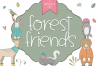 Forest Friends - A Handwritten Font example image 1