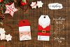 Santa Claus tags and cards example image 5
