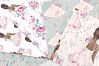 Ballet Watercolor Hand Drawn Child Dress Paper Pack example image 2