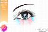 Transgender Pride Heart Flag Eye Printable Design example image 2