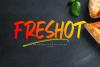 FresHot - Handwritten Display Font example image 12